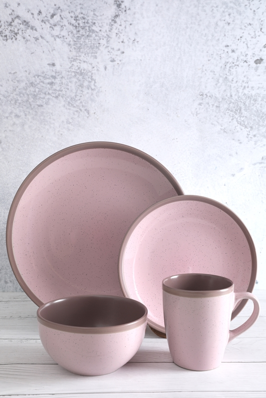 Color Glaze Stoneware With Small Point Tableware Set