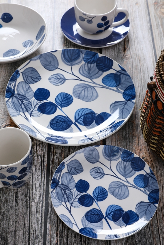 Family ceramics for daily use dinnerware