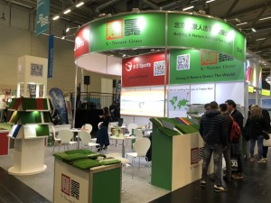 X-Nature Grass attended 2019 Cologne FSB in German from Nov.05th.