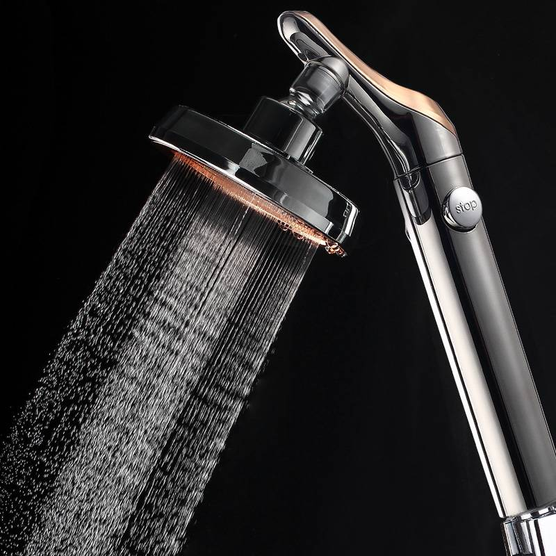 rotating shower head