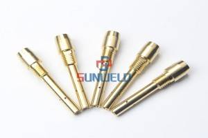 Contact Tip Holder Inside Thread M14*90 XLU4173G21 for OTC Welding Torch 500A