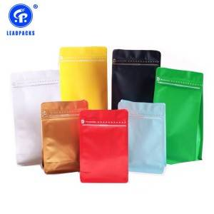 Foil Stand Up Pouch With Zipper