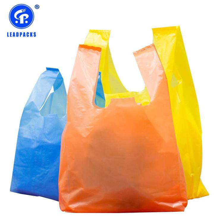 Plastic T-shirt Shopping Bag Featured Image