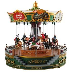 China Factory Boite A Musique Caja Musical Custom Song Diy Setereo Carousel Music Box