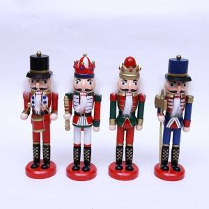 Melody hanging Puppet Toys, German Wooden custom nutcracker soldier Christmas ornaments