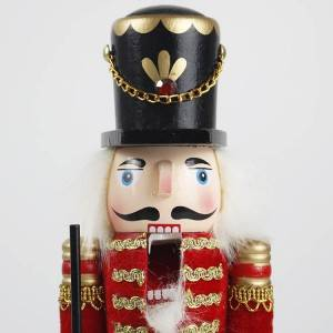 Wholesale tabletop Traditional Puppet Wooden soilder nutcracker figures Christmas decorations