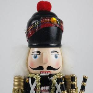 Holiday table decor and promo gift Puppet Occasion wooden figurine Christmas nutcracker for kids