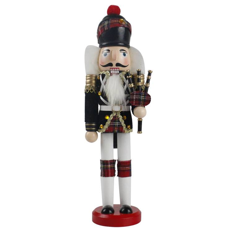 Holiday table decor and promo gift Puppet Occasion wooden figurine Christmas nutcracker for kids Featured Image