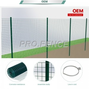 PVC coated weld wire mesh rolls for industrial and agricultural application
