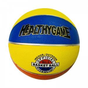 professional custom official size 3 orange basketball ball