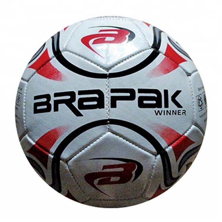 Custom logo printing size 4 sports training pu soccer ball Featured Image