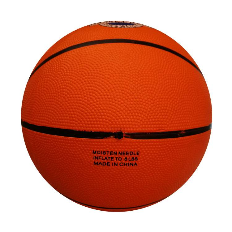 Excellent quality Wholesale Sport Basketball - Manufacturer custom logo printed official size 7 kids sports rubber basketball – Xinxiang