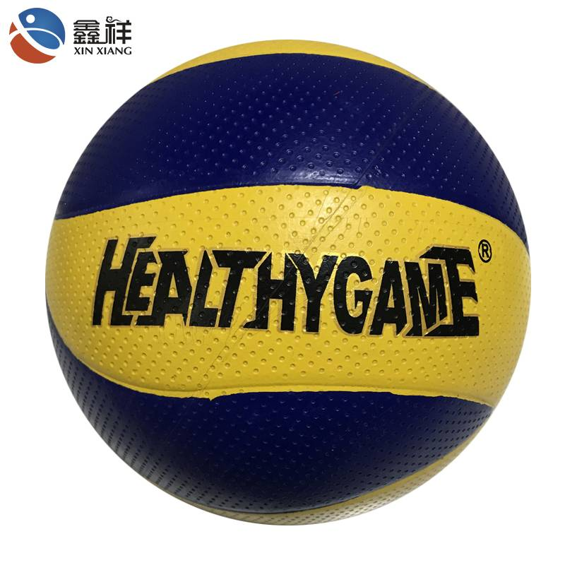 Supplier custom size 5 beach sports training rubber volleyball ball