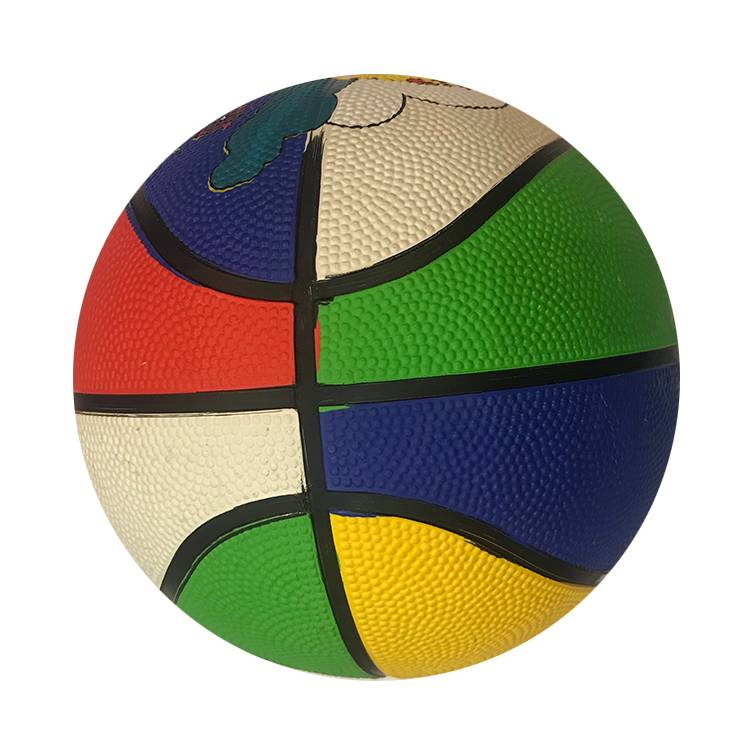 Wholesale Kids Toy Small Bladders Balls For Promotion Colorful Rubber Size 3 5 6 7 Basketball