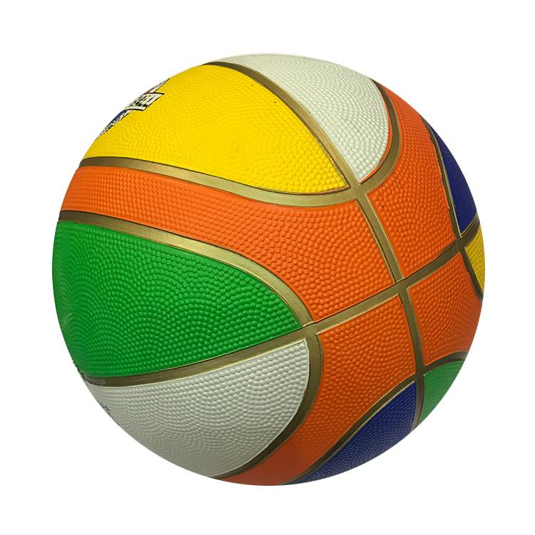 Promotional Cheap Custom Printed No Logo Outdoor Standard Official Size 3 5 6 7 Rubber Basketball