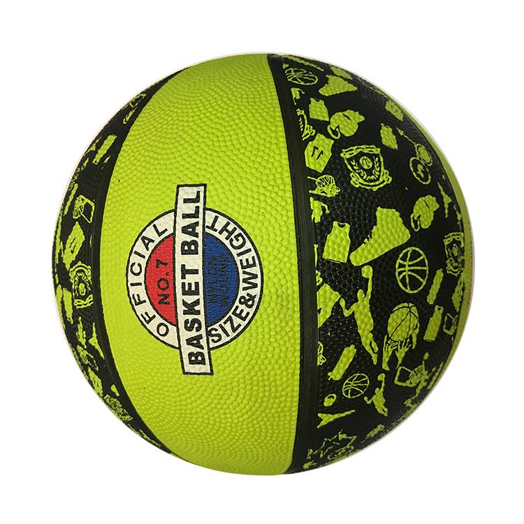 Custom Made Colorful Kids Sport Ball Products Official Weight Size 3 5 6 7 Natural Rubber Basketballs