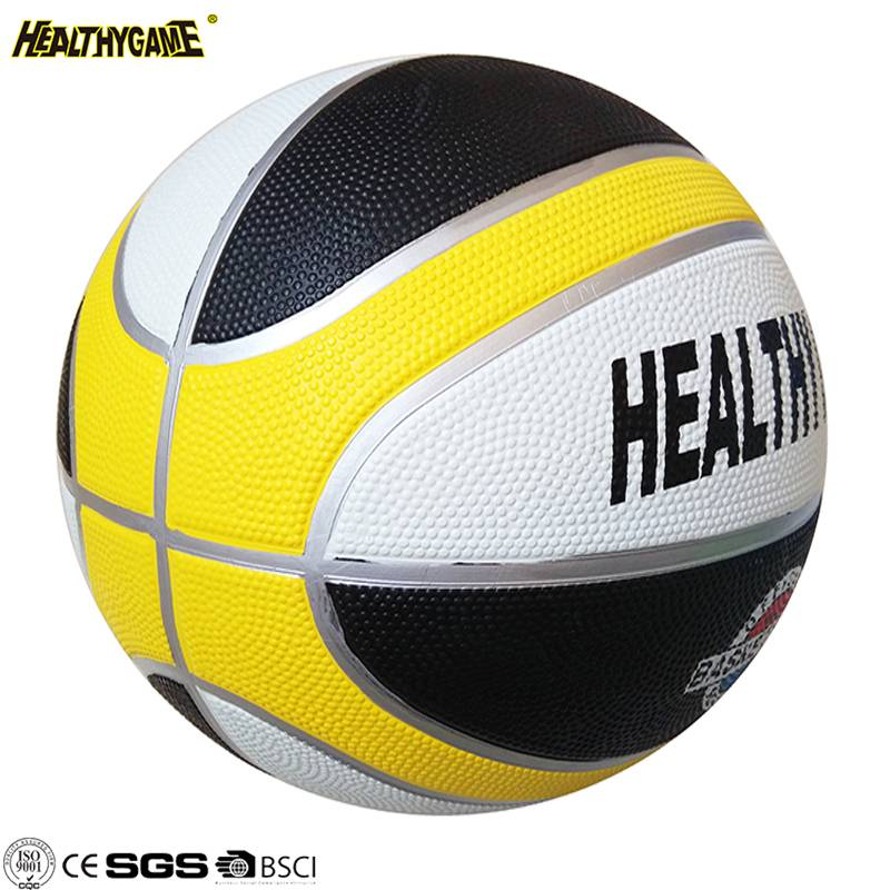 Any Color Size Custom Rubber basketball Cute Basketball
