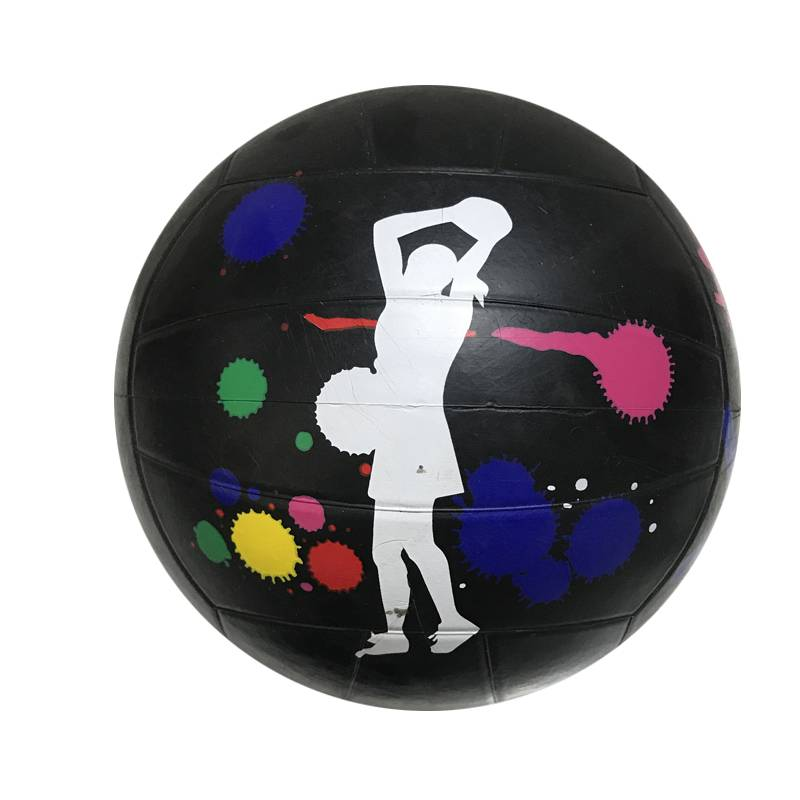 High Quality Customized Logo Size 5 Rubber Volleyball Featured Image