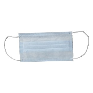CE Manufacturer Disposable Non Woven Tasteless No Irritation 3 Ply Medical Face Mask