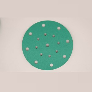 Wholesale Green Film Abrasive Tool Disc Sandpaper -L911