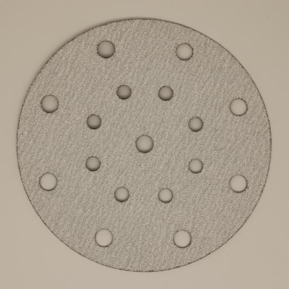 White Abrasive Sanding Disc-B322 Featured Image