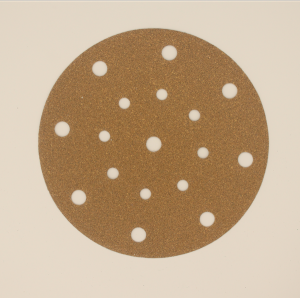 Sanding Disc Holes Gold Sanding paper for Polishing Car and Metal -A720T