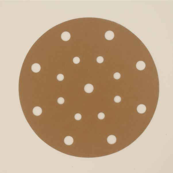Sanding Disc Holes Gold Sanding paper for Polishing Car and Metal -A720T Featured Image