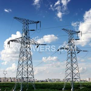330kV M-type line tower