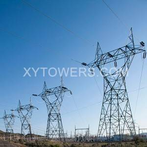 330kV single loop Y-type transmission tower