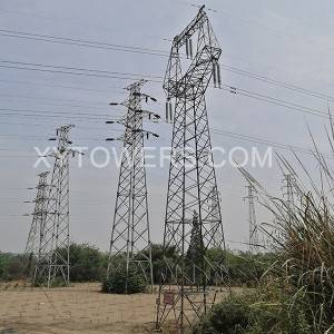 220kV ZM-type transmission tower