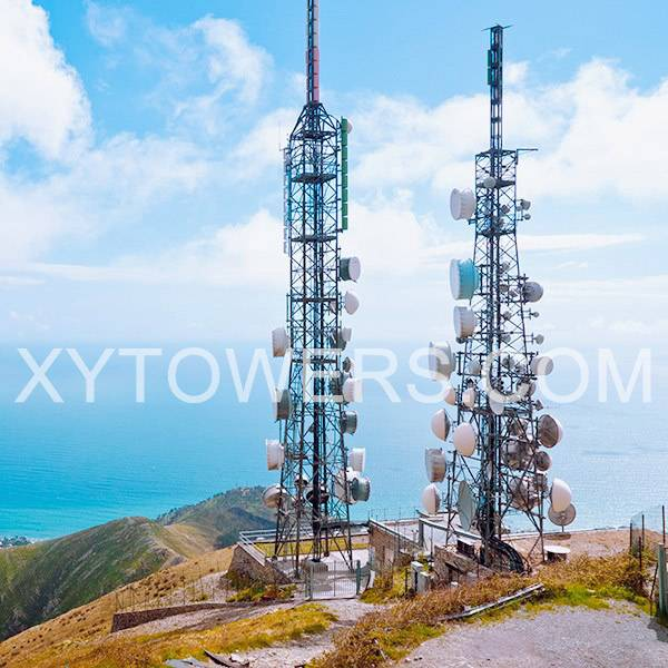 microwave tower/radio broadcasting Tv steel tower Featured Image