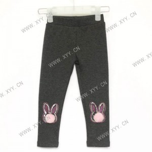 Girl's warm leggings/XN-8037