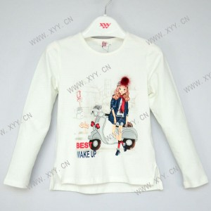 Girl's t-shirt l/s  LY-191030
