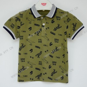 Boy's polo shirt M-F373