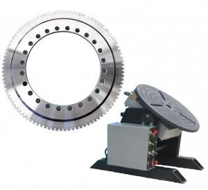 Professional slewing bearing manufacturer for welding positioner