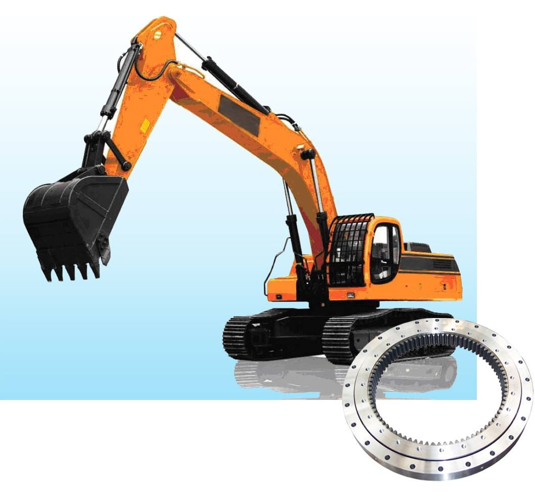 excavator slewing bearing