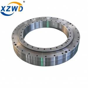 Non-Geared Three row Roller Slewing Bearing for Heavy Machinery