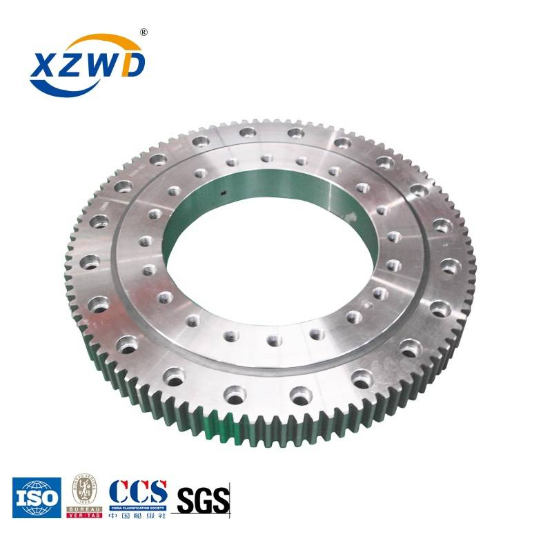 large diameter four point contact ball turntable bearing for robot Featured Image