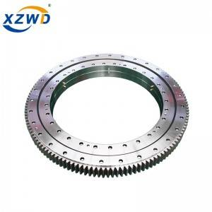 XZWD Double row ball Big capacity Slewing Ring Bearing