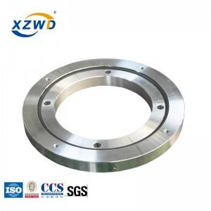 XZWD big diameter single row ball polymer slewing bearing