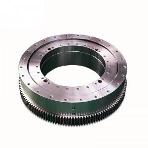 Three row roller turntable slewing bearing external gear 131.32.800