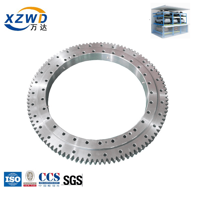 Car parking system used slewing bearing