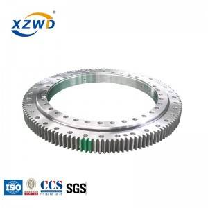 High quality 4 point contact ball turntable bearing for wind turbines