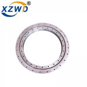 XZWD high precision single row ball slewing ring bearing without gear