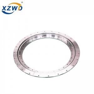 DOUBLE FLANGE SLEWING BEARINGS WITH SINGLE BALL BEARING ROW, NO GEAR TEETH, STANDARD 230 SERIES