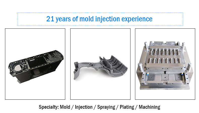 What are the types of mold processing?