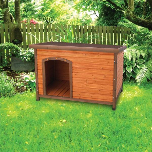 Premium Dog House Solid Wood Bed for Pet Featured Image