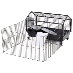 Sterner Pet Metal Main House Small Animal Shed Cage with Feeder 0244