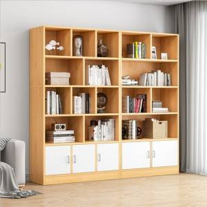 Simple bookcase bookcase simple floor student home bedroom space saving storage cabinet small storage cabinet rack