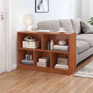 Bookshelf floor simple primary school students economical desk office storage living room storage shelf space-saving bookcase-0120